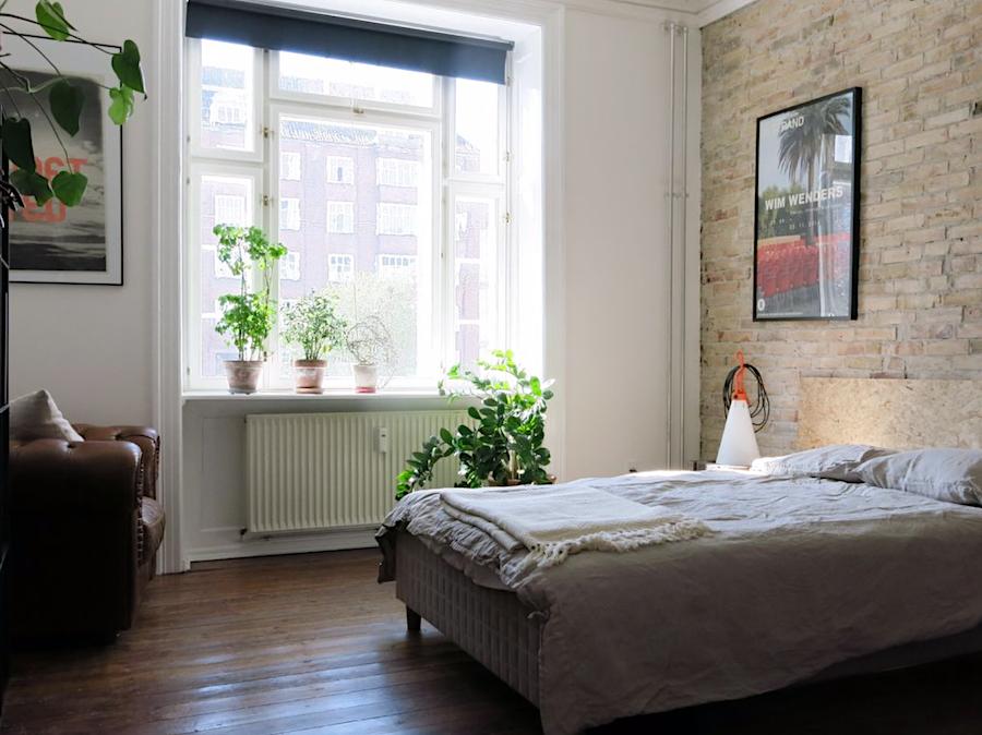 Schlafzimmer 1, in der Østerbro Wohnung