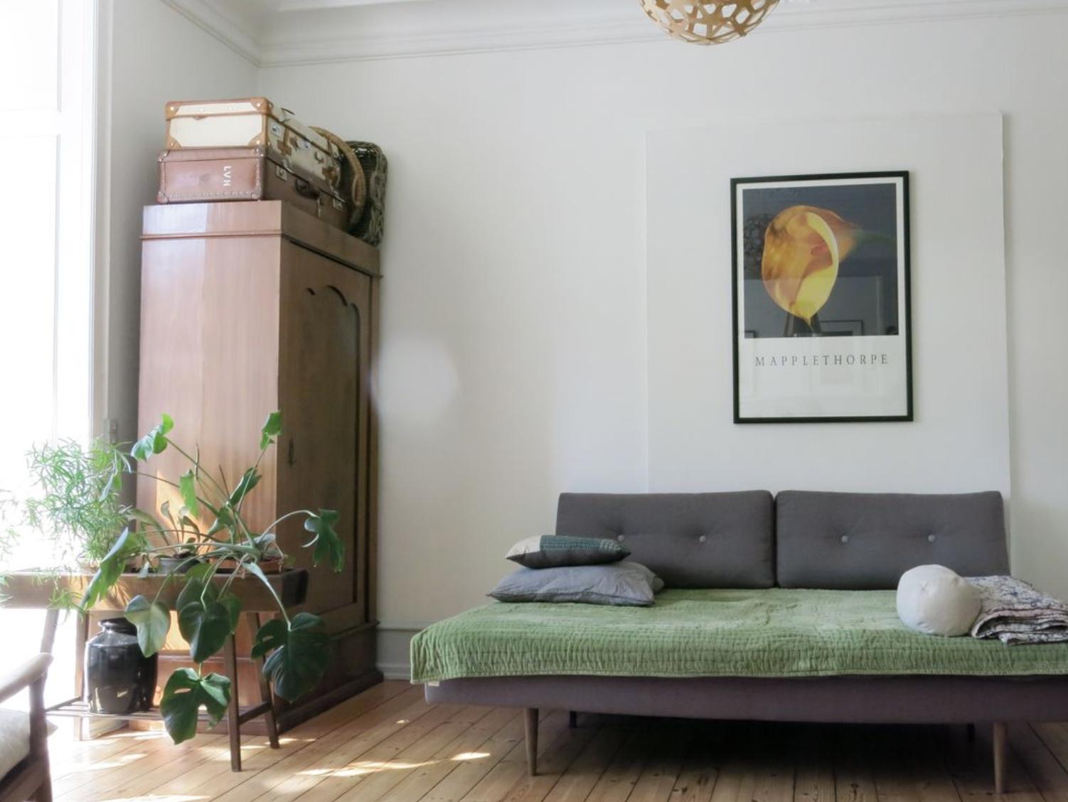 Schlafzimmer 3, in der Østerbro Wohnung