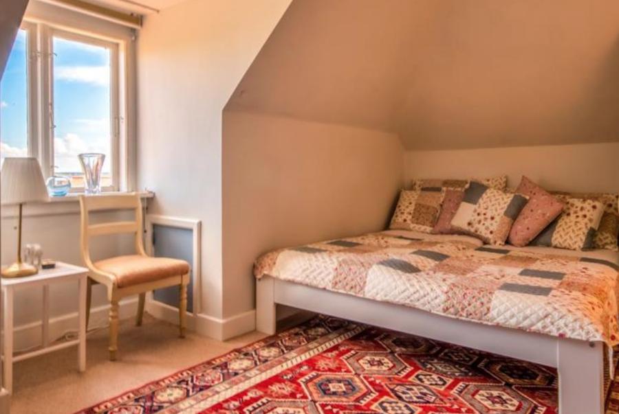 Et soveværelse ud af fire