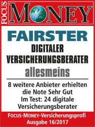 1. Platz FOCUS MONES Fairness-Check