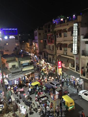 Strasse von Delhi