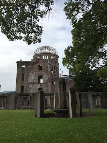 """Der bekannte """"A-Bomb-Dome"""""""