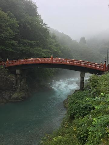 """Die """"Shinkyo"""" Brücke in Nikko"""