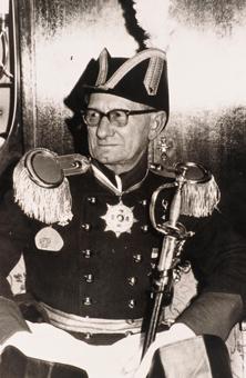 1954 Bürgergarde, das war sein Leben.