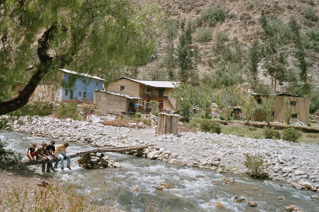 Fluss in Chiuchin
