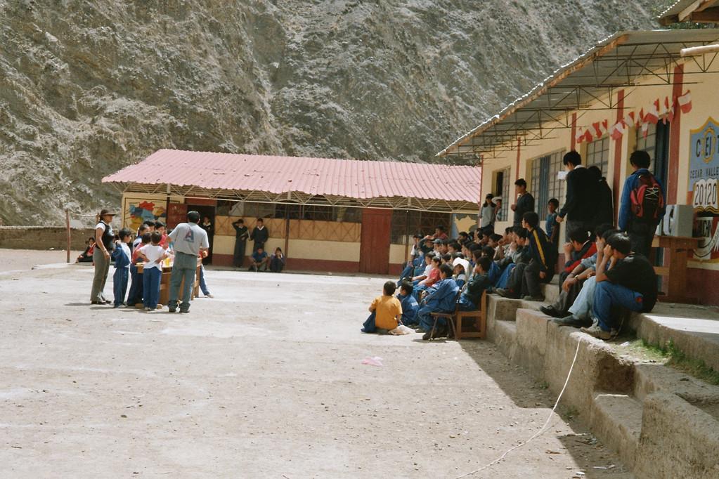 Schule Cesar Vallejo in Chiuchin
