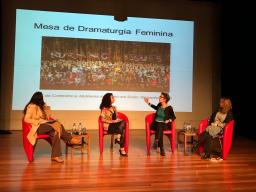 Barbara beim Roundtable in Porto Alegre