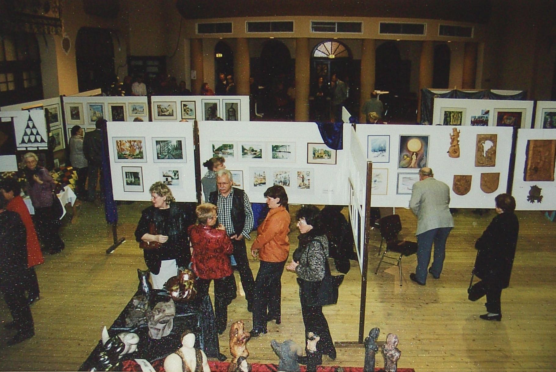 Ausstellung Rathaus Wemmetsweiler