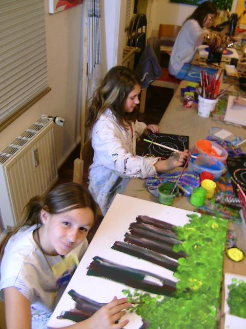 Ferienmalkurs, Köln, Kinder