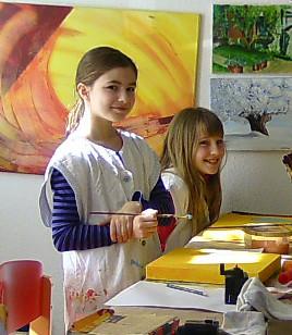 Karola Fels, Malkurs, Kinder, Erwachsene, Köln, Lindenthal