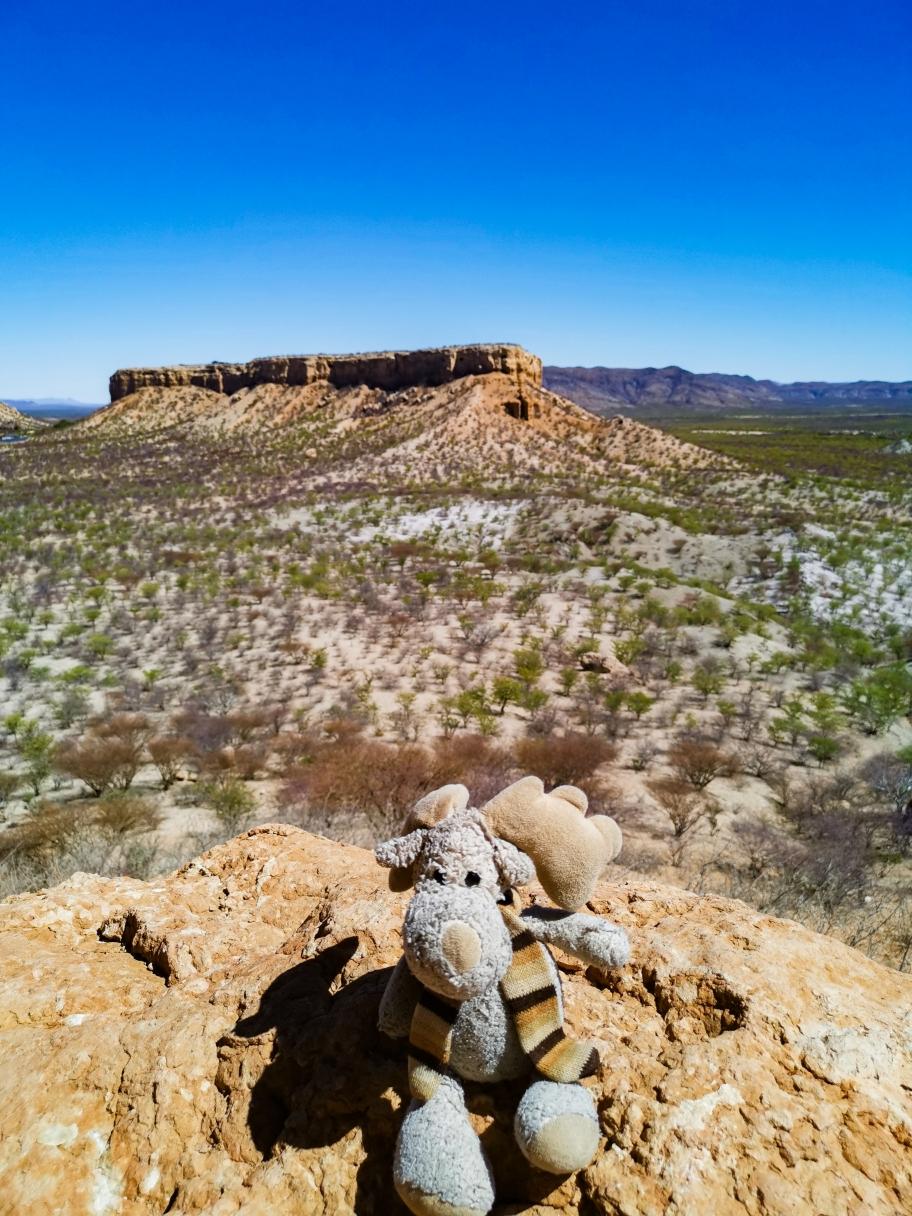 Ein toller Blick vom Fingerklip (Namibia)