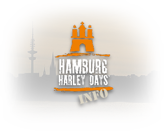 Grafik: Teaser-Grafik / Hamburg Harley Days INFO - Ride-In Bike-Show auf der Mönckebergstraße, durchgeführt vom Hamburg Chapter Germany