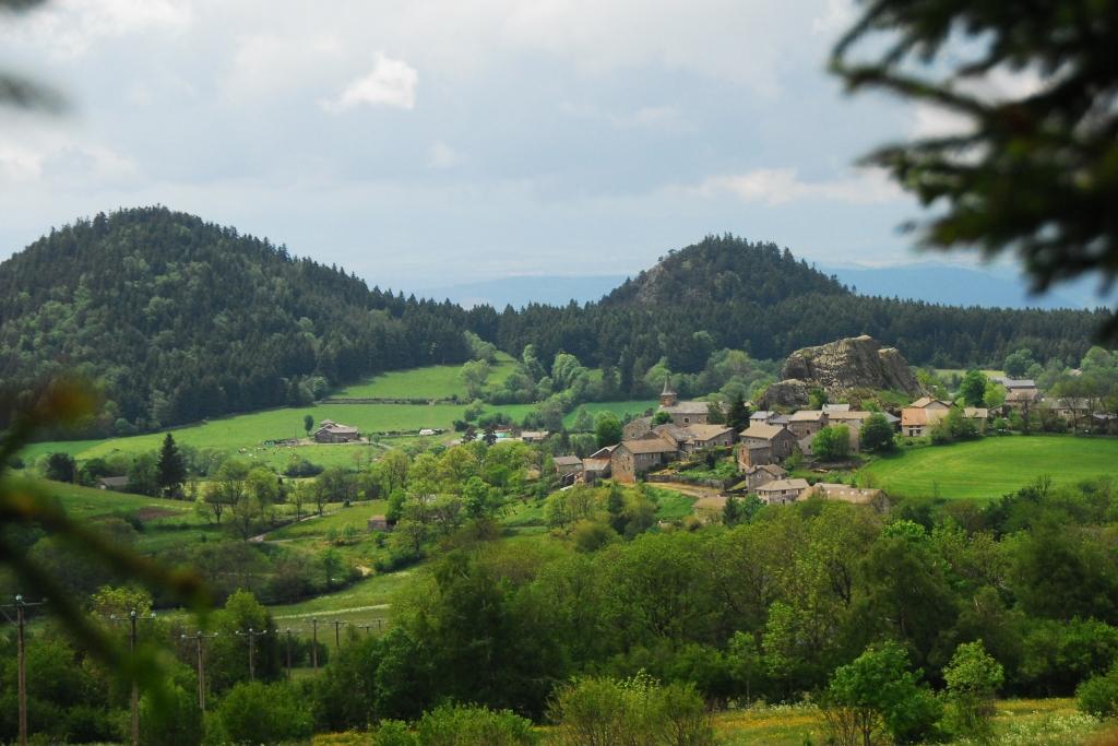 Queyrieres, Haute-Loire, Massif du Meygal