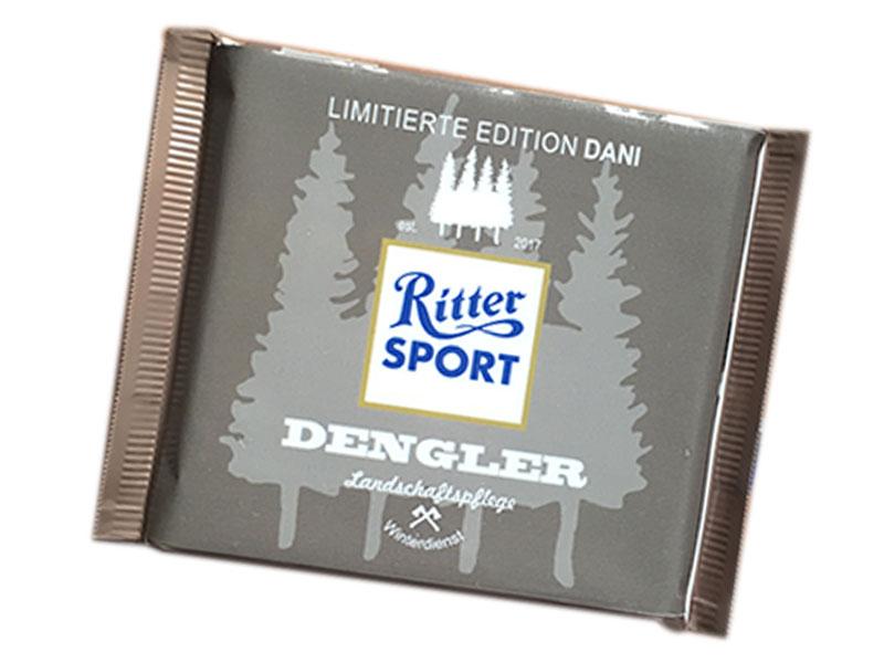 Geschenkidee, Schokolade individualisiert