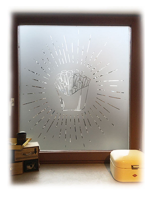 Folienplott | Glasdekor-Folie