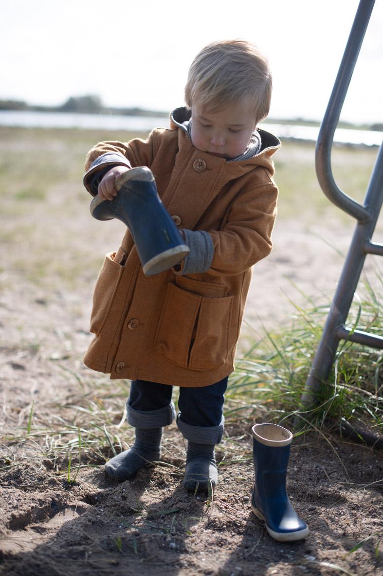 Kinderkleidung aus Wolle