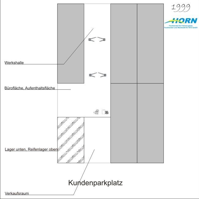 1999 Gründungsjahr der Horn Fachhandel und Werkstatt für KFZ GmbH