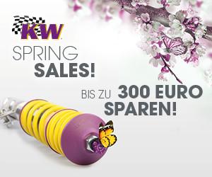 KW SPRING SALES! - bis zu 300 Euro sparen!