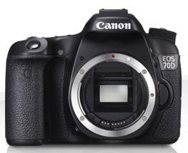 Canon EOS 70D, Quelle: Canon.de