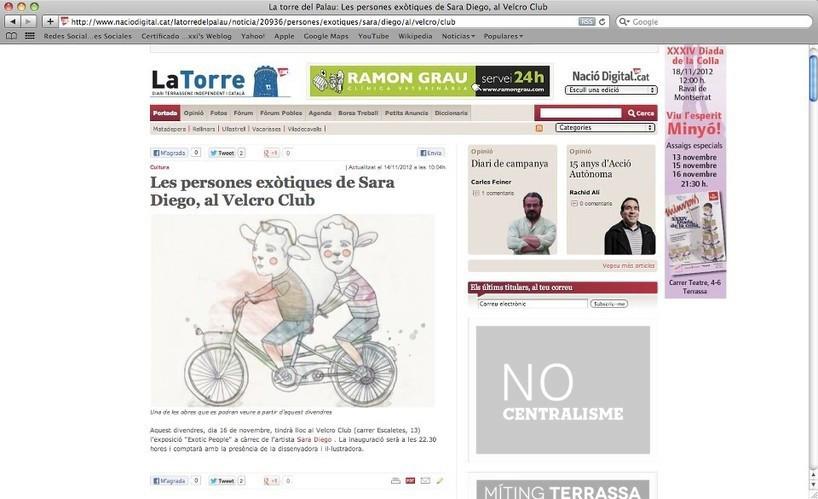 Periódico digital La Torre Noviembre 2012