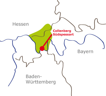 Collenberg liegt im Mainviereck zwischen Miltenberg und Wertheim
