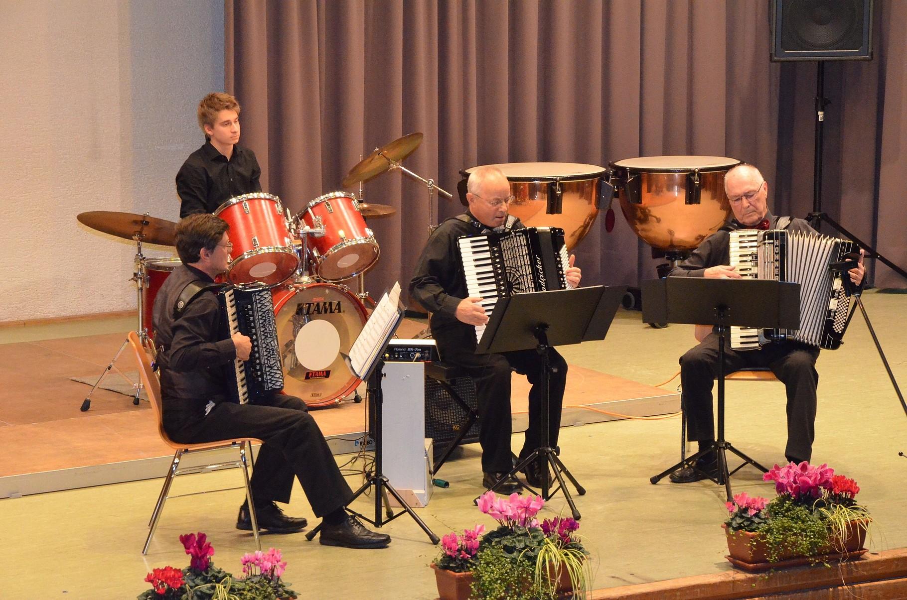 Unsere Gäste: Trio aus Pforzheim-Eutingen