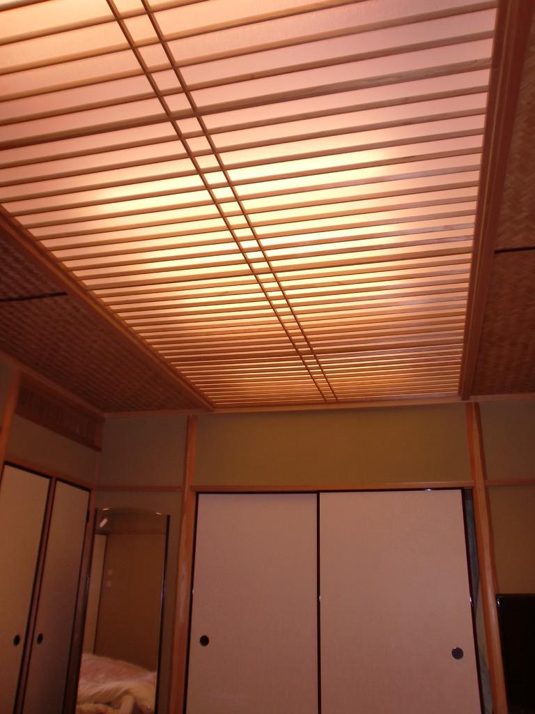 2階寝室 天井