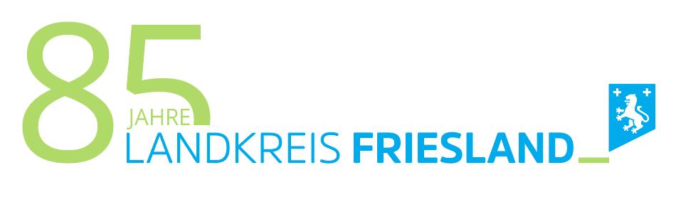 Logo Design für 85 Jahre Landkreis Friesland