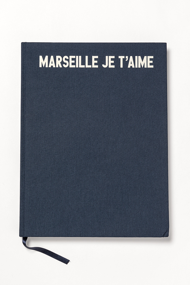 Marseille je t`aime, a book by Jaquesmus, 2017
