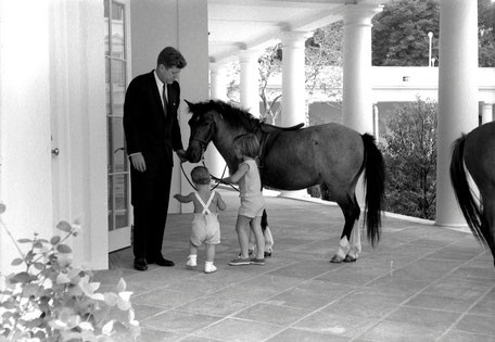 © Robert Knudsen · White House Photographs · John F. Kennedy Presidential Library and Museum, Boston