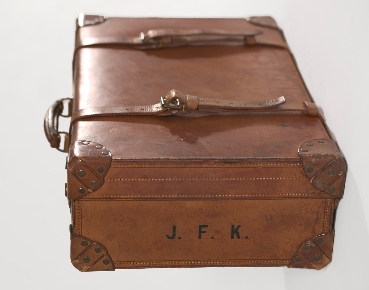 © CAMERA WORK · John F. Kennedy's monogrammed trunk