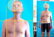 Körperstatik-Analyse, Haltungsanalyse, meist Bestandteil einer umfangreichen Gangbild-, Körperanalyse
