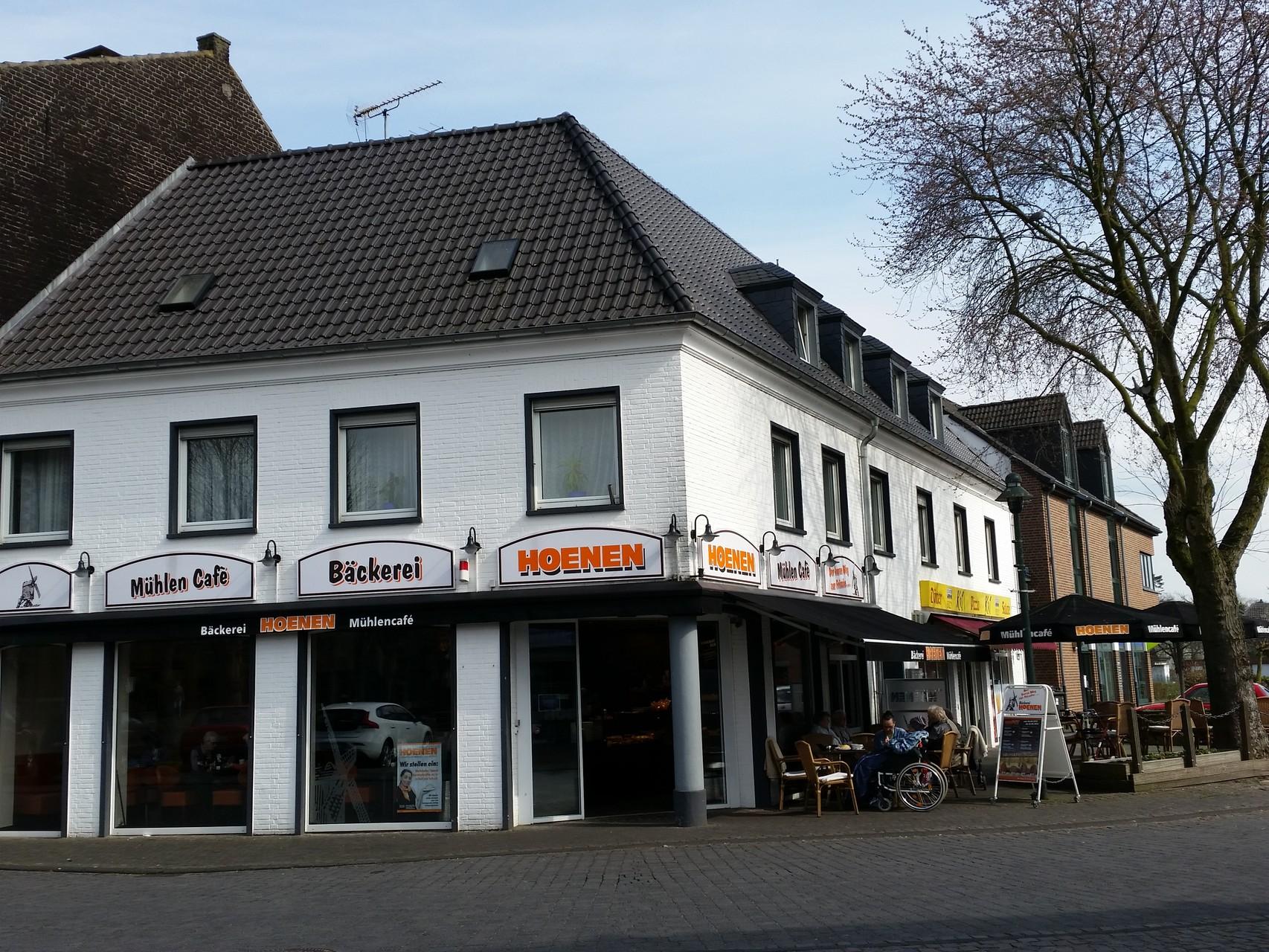Bäckerei und Mühlencafe´ Büsch an der Marktstraße