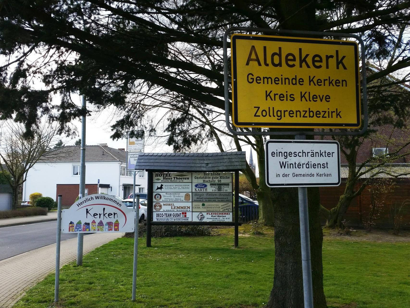 Herzlich willkommen in Aldekerk