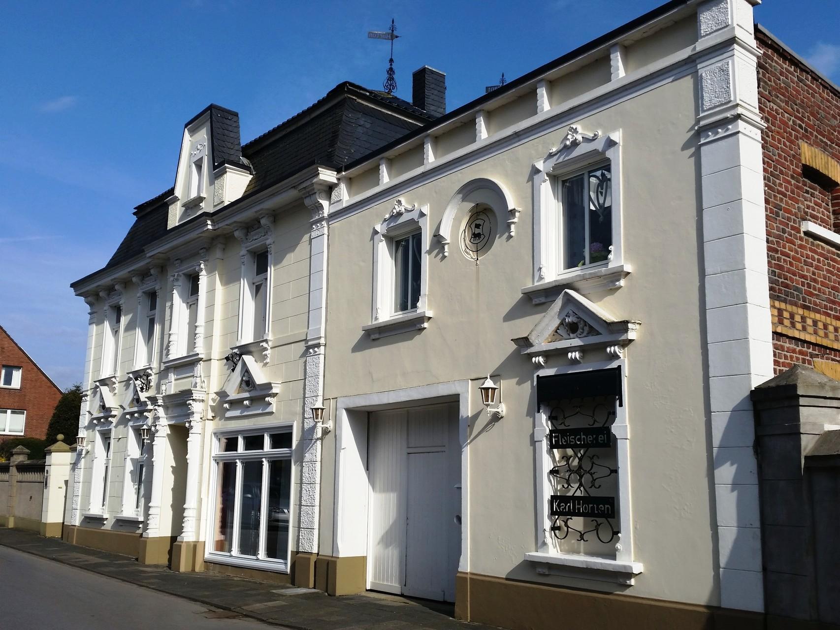 Historische Hausfassade an der Klosterstraße