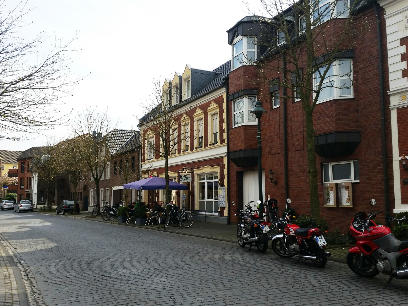 Eisdiele an der Marktstraße