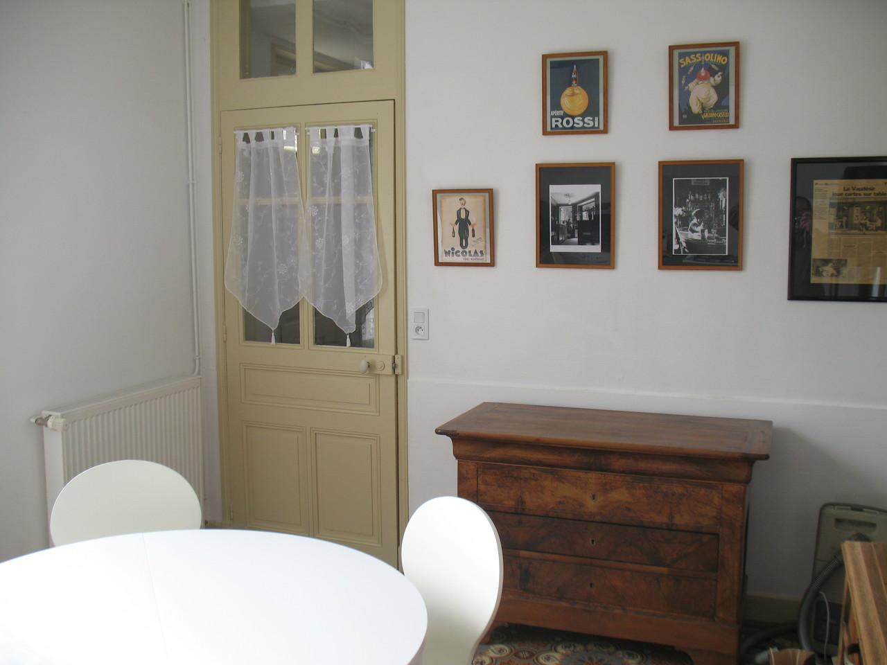 L'accès au couloir