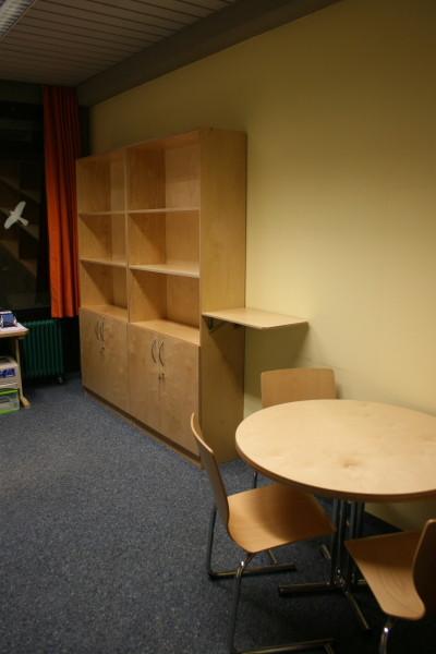 Büroeinrichtung in Birke Multiplex