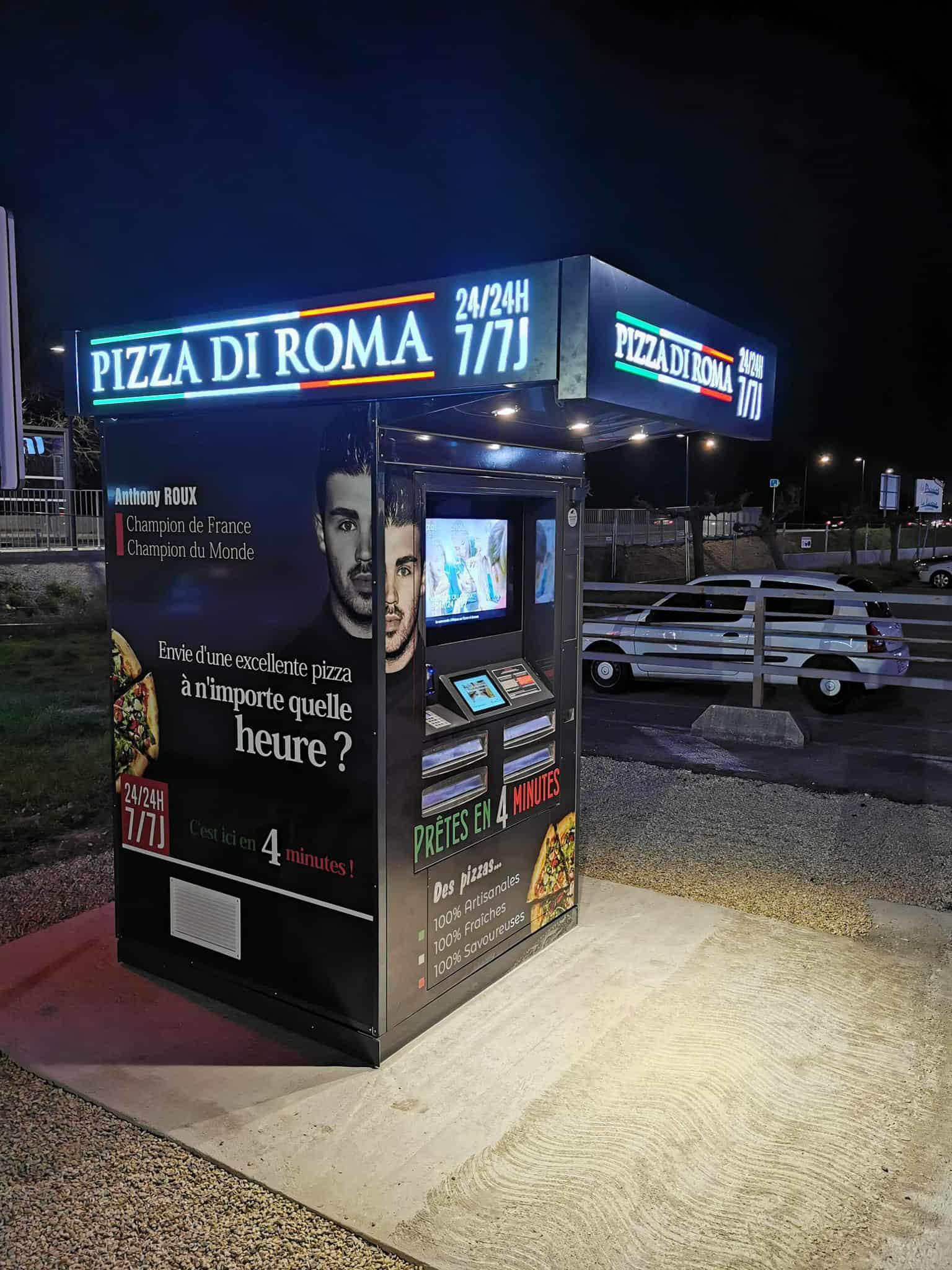 Suite au succès du 1er distributeur, Anthony Roux a pu embaucher un salarié et installer un 2e distributeur à Caissargues.