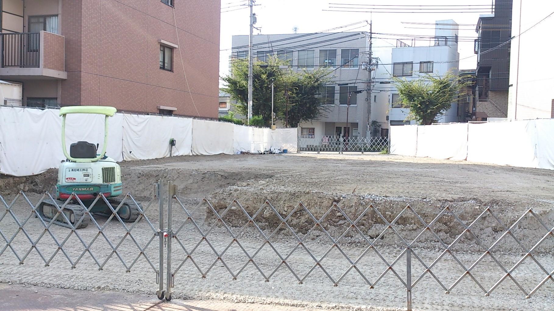 14/9/16 土部分の土台がほぼできました