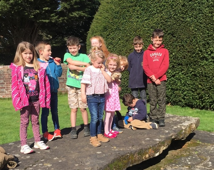 Fun in the spring sunshine