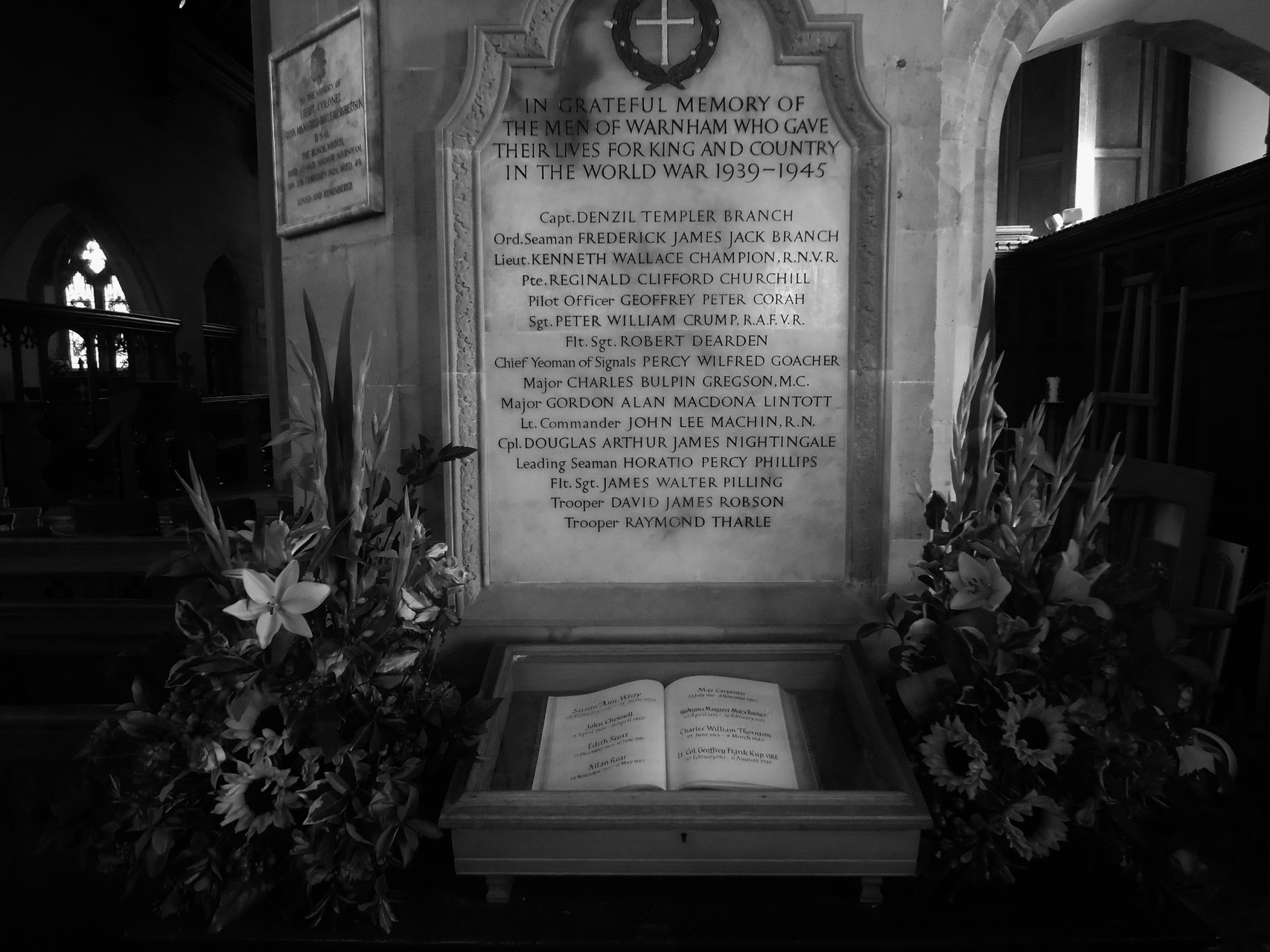 The Book of Remembrance and WWII Memorial