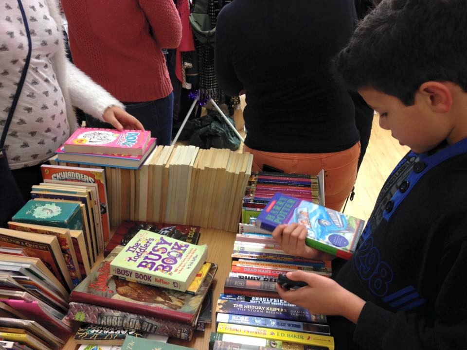 Browsing the children's books