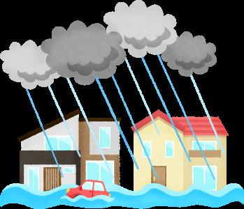 水災,火災保険,家財保険,水害,台風