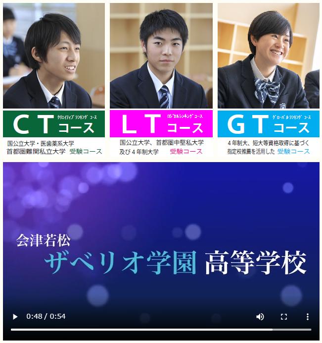会津若松ザベリオ学園高校,会津若松市