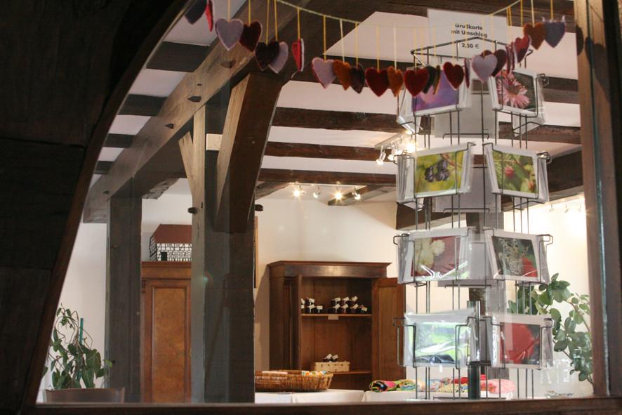 Museumscafé Diesdorf, Shopansicht