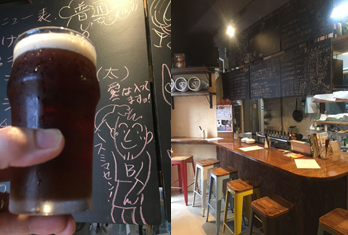 Yell&Ale ビールと店内の写真