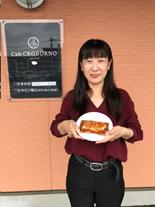 田原りほ社長の写真