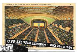 15 rocznica AA i Pierwsza Międzynarodowa Konwencja AA w  Clevland z udziałem 3000 trzeźwych alkoholików, Ohio 1950