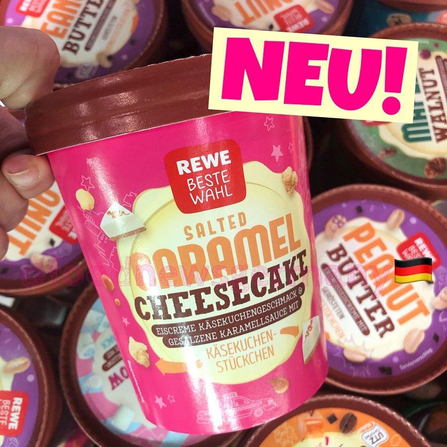 Rewe Beste Wahl Eis Salden Caramel Cheesecake
